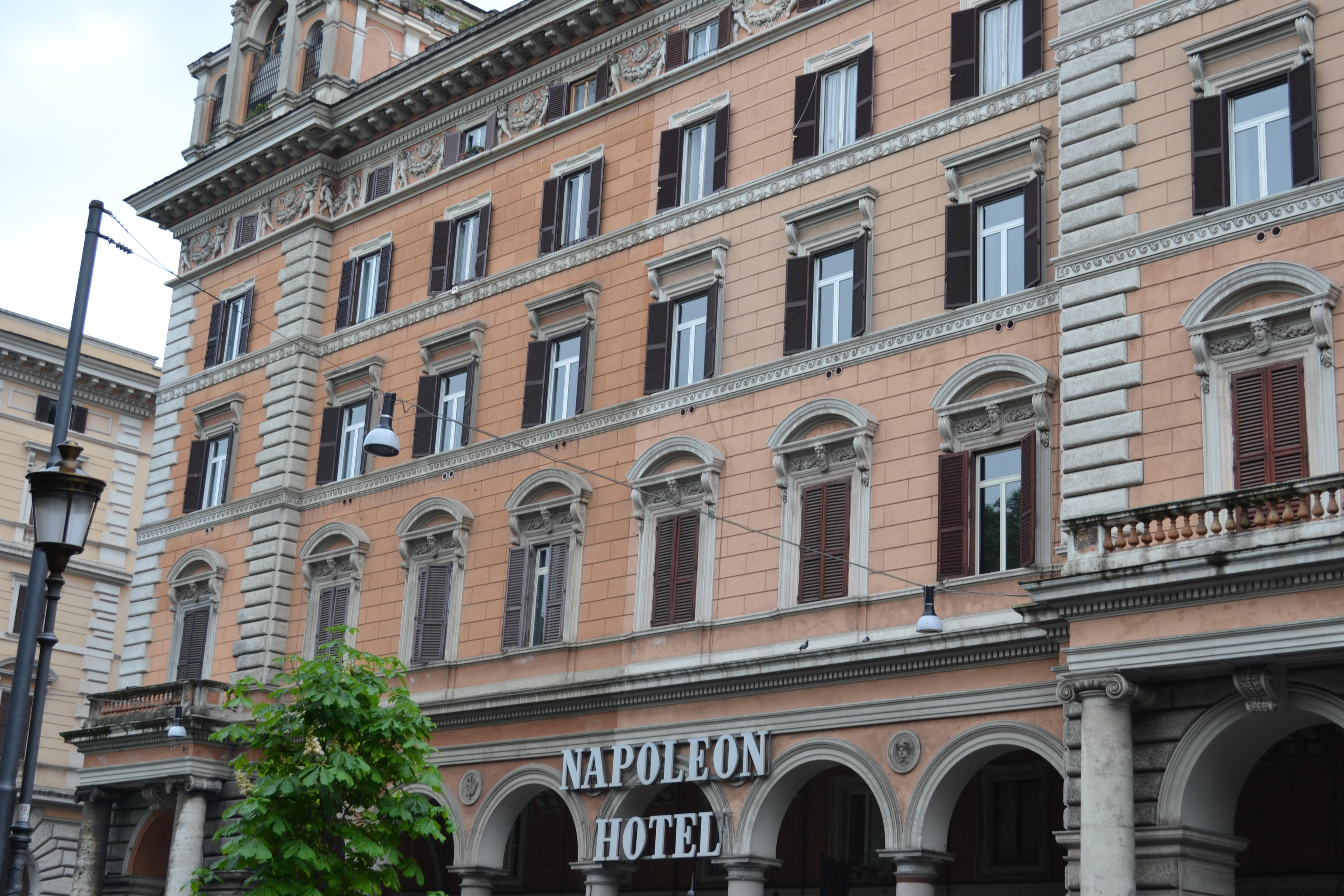 When In Rome Hotel Napoleon Cruise Escapes Blog