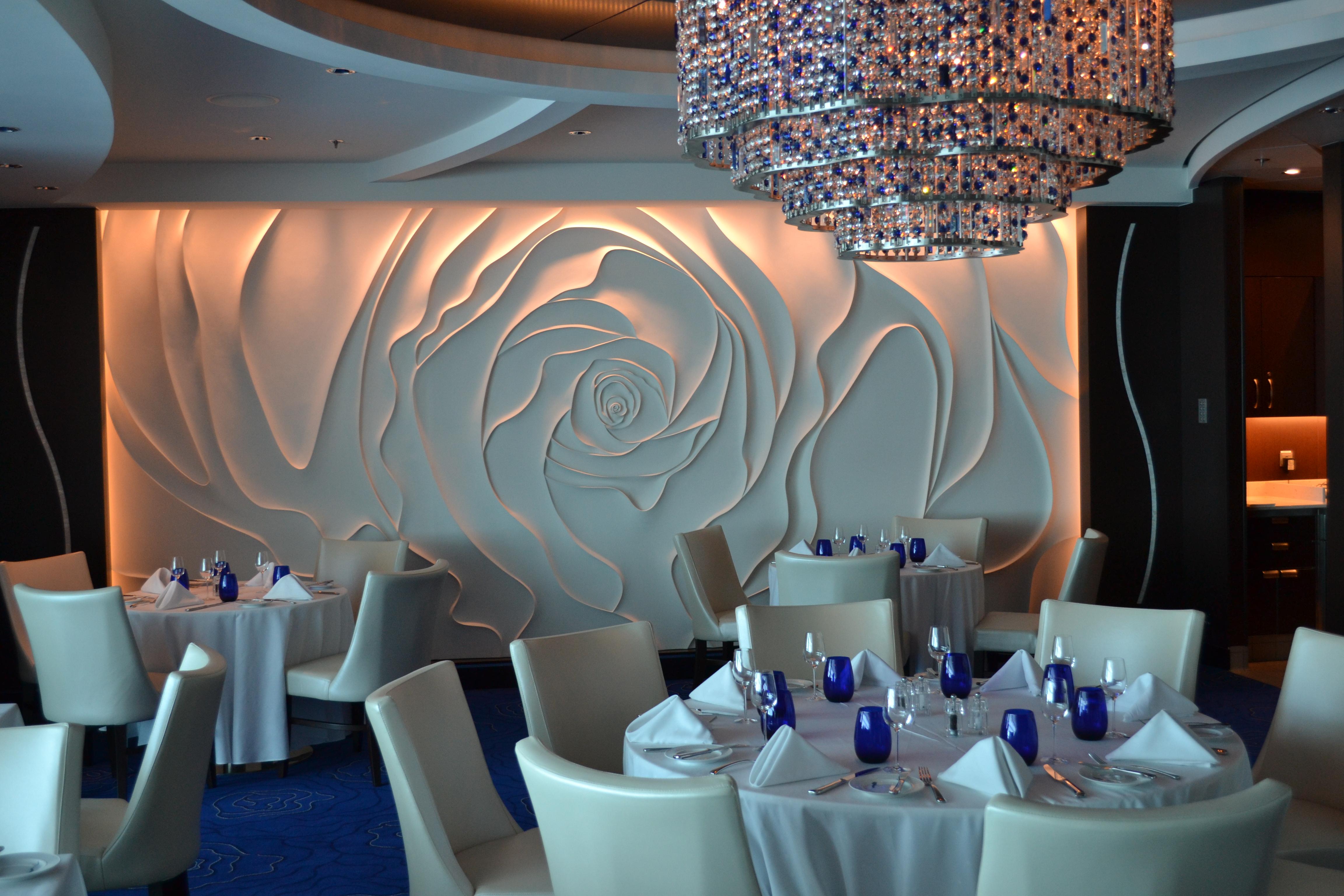 Celebrity Silhouette Specialty Restaurant Menus (Solstice ...