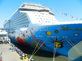 Norwegian Breakaway in NYC