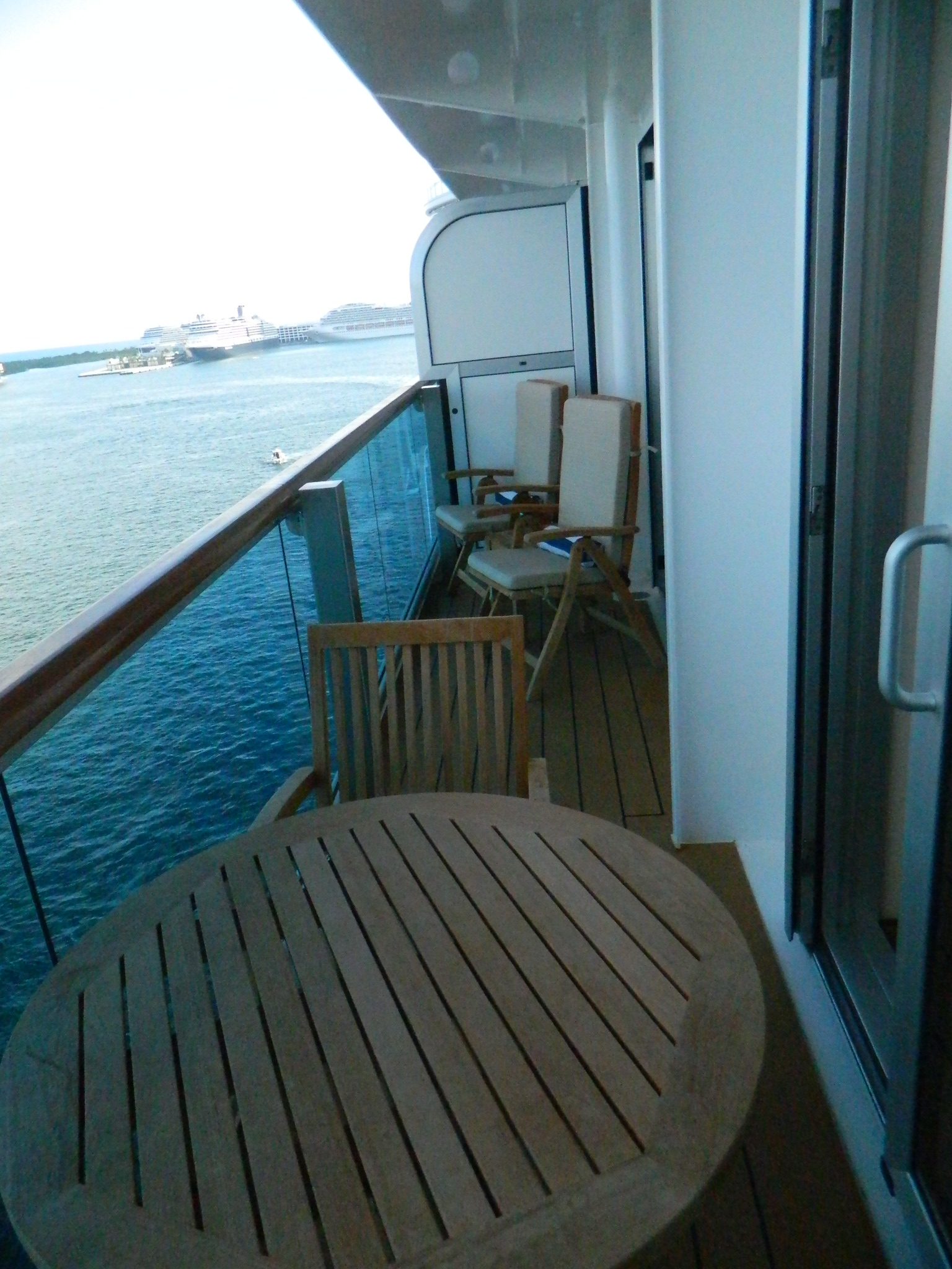 Royal princess cruise escapes blog for Cruise balcony
