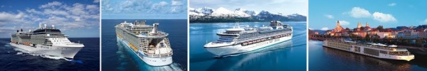 Celebrity, Royal Caribbean, Princess, Viking River