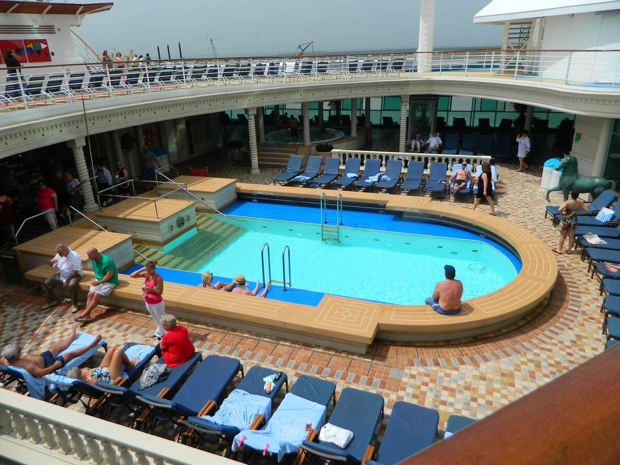 Cruise ship dining cruise escapes blog navigator of the seas solarium on deck 11 for adults only baanklon Images