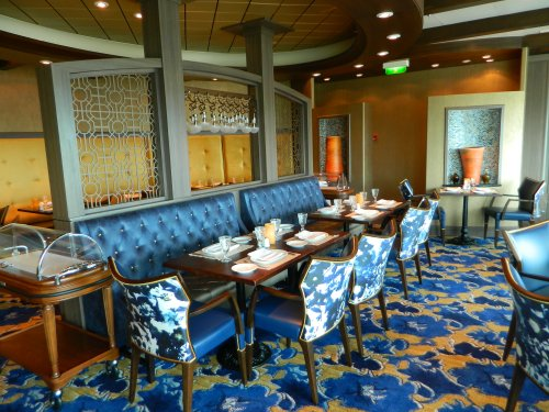 Navigator of the Seas:  Giovanni's Table Italian Specialty Restaurant on Deck 11
