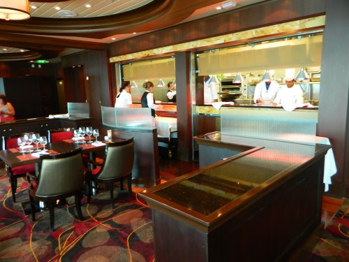 Navigator of the Seas: Chop's Grille, Steakhouse Specialty Restaurant on Deck 11