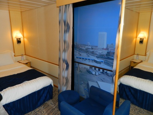 Navigator of the Seas:  Interior Cabin with Virtual Balcony