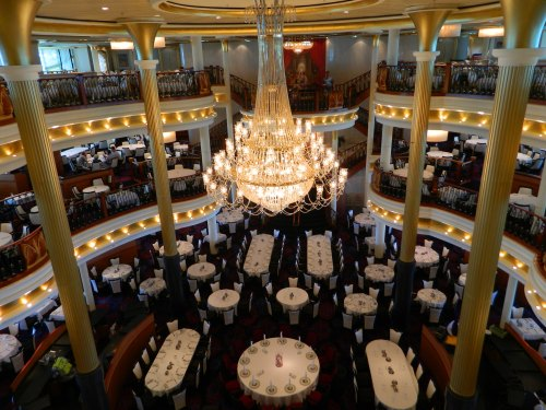 Navigator of the Seas:  Sapphire Dining Room