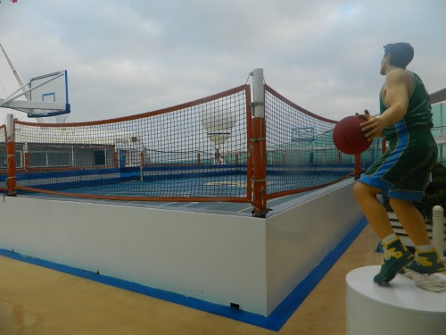 Navigator of the Seas:   Sports Court on Deck 13