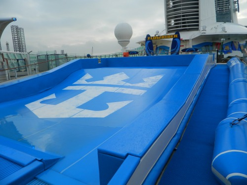 Navigator of the Seas:   Flowrider Surf Simulator