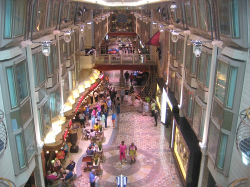 Navigator of the Seas:  Royal Promenade