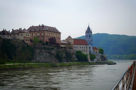 Durnstein church with Scenic Cruises