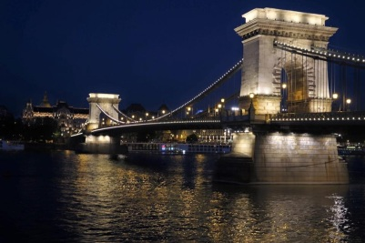 Chain Gate Bridge in Budapest with Scenic Cruises