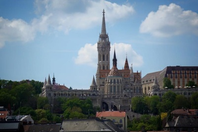 Matthias Church in Budapest with Scenic Cruises