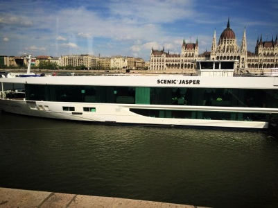 Scenic Jasper in Budapest with Scenic Cruises