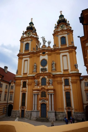 Melk Abbey in Austria with Scenic River Cruises