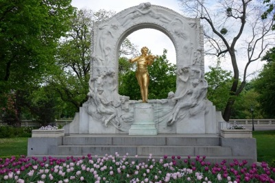 Strauss in Stadtpark, Vienna with Scenic River Cruises