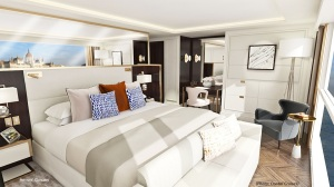 Crystal Cruises river cruise suite
