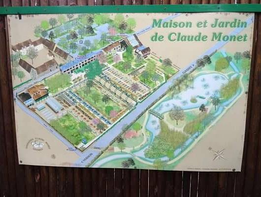 Map Of France Giverny.Monet Monet Cruise Escapes Blog