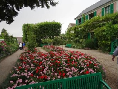 Monet home in Giverny, France