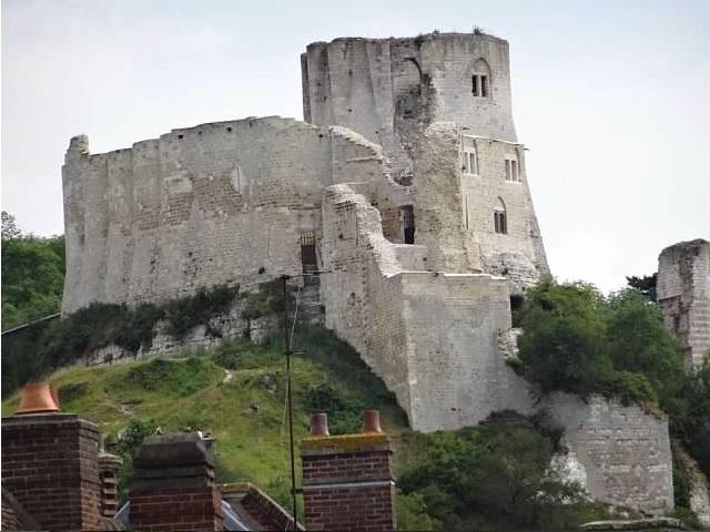 Les Andelys Chateau Gaillard