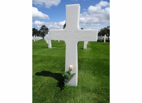 Normandy Cemetery closeup