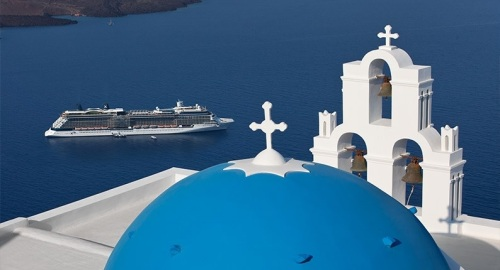 Celebrity photo Santorini