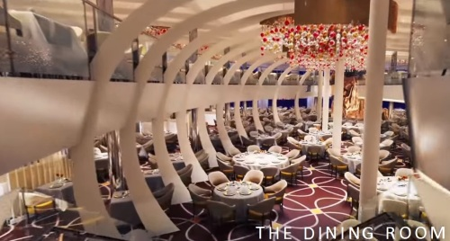 Koningsdam Dining Room