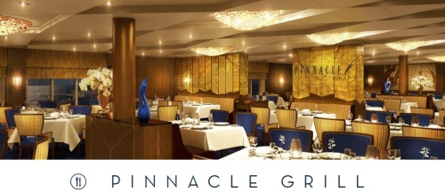 Koningsdam Pinnacle Grill