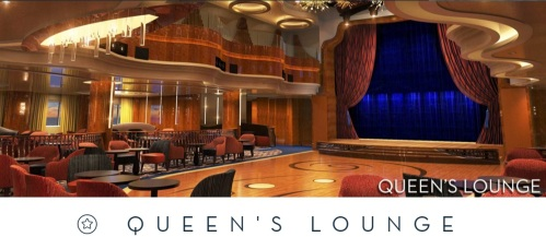 Koningsdam Queens Lounge