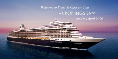 Koningsdam ship
