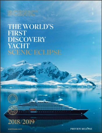Scenic Eclipse preview brochure cover