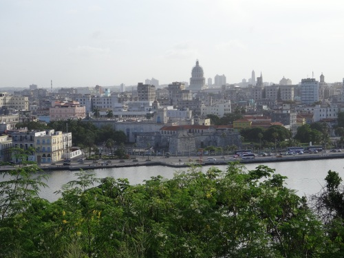 Havana seen from across the harbor