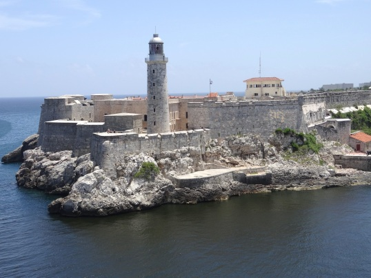 el Morro on the port side of Havana Harbor