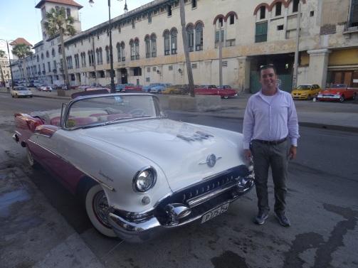 Fabio & the '55 Olds