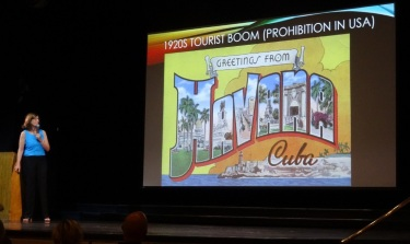 Mary Clark Coffey presents Cuba & it's history