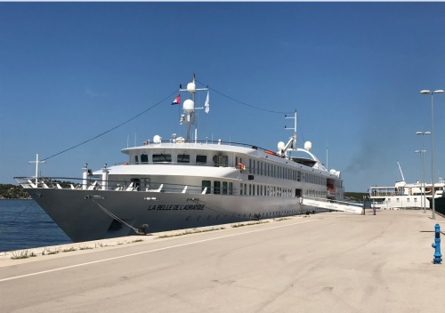 La Belle de l'Adriatique docked in Trogir