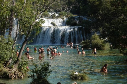 The island of Sibenik with an excursion to Krka Falls