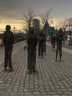 CE Share Janet K Potato Famine Memorial—Dublin, Ireland