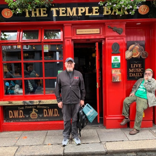 CE Share Keith C Temple Bar in Dublin