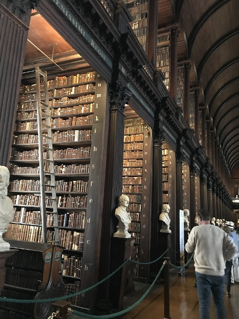 CE Share Anna W. 1 Book of Kells Library, Dublin