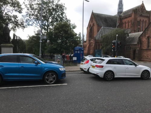 CE Share Anna W. We found the TARDIS in Scotland