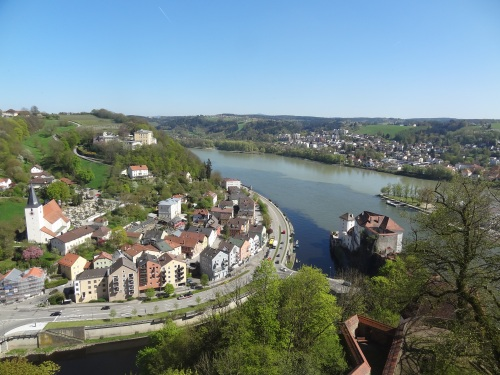 CE Share David M. Intersection of 3 rivers in Passau, Germany