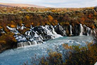 CE SHare Susan B 11 Hraunfossar Waterfalls, Hallmundarhraun Lava Field