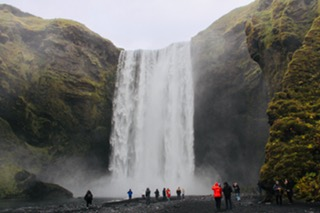 CE SHare Susan B 17 Skógafoss Waterfalls, South Coast