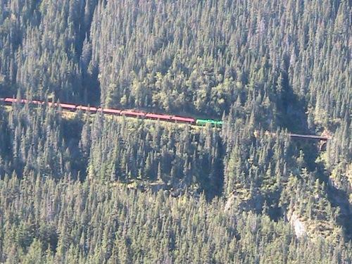 CE Share Pridemore 11 White Pass railway Skagway