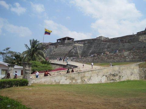 Fort in Cartagena, Columbia