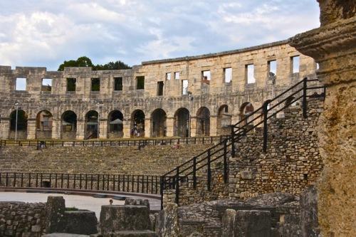 CE Share Susan B Croatia 12 Pula, Amphitheatre