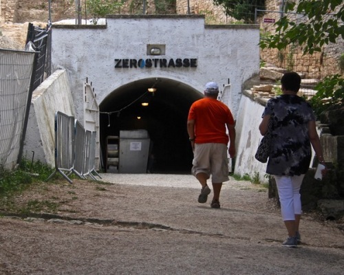 CE Share Susan B Croatia 21 Pula - Zerostrasse, the underground tunnels where citizens hid during bombings