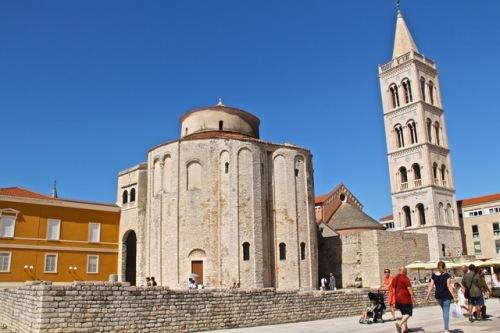 CE Share Susan B Croatia 23 Zadar - The Roman Forum
