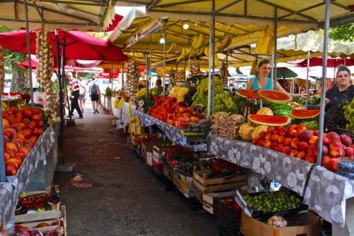 CE Share Susan B Croatia 28 Trogir - Farmer's Market