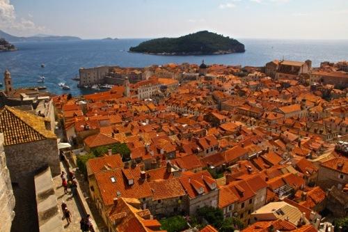 CE Share Susan B Croatia 42 Dubrovnik - The walk around the city walls